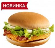 Чикенбургер с беконом